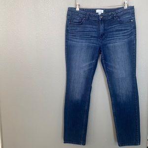 Liz Claiborne Blue Jeans Stretch Size 12